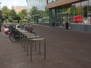 Leine - fietsparkeren